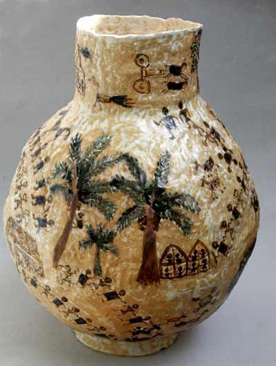 Ceramics Painting by Nirmala Sharma