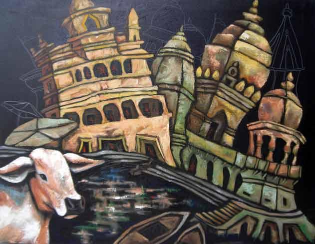 Type-Acrylic on Canvas