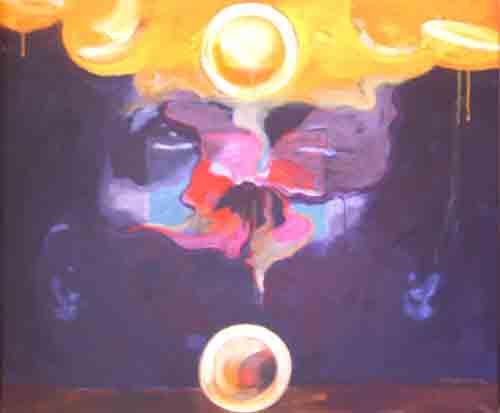Acrylic on Canvas by Mallesham Gurram