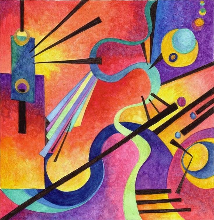 Munich by Wassily Kandinsky