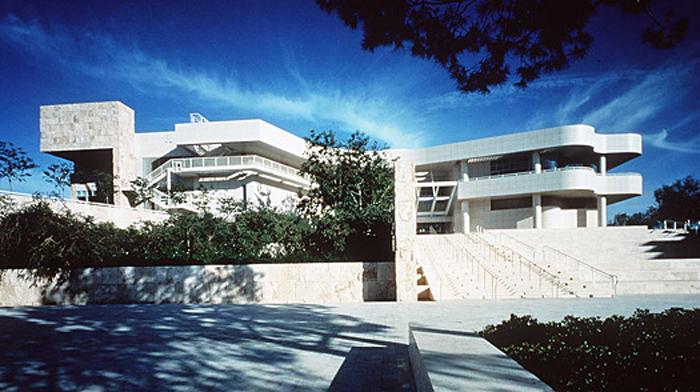 J paul getty center top museum for La architecture